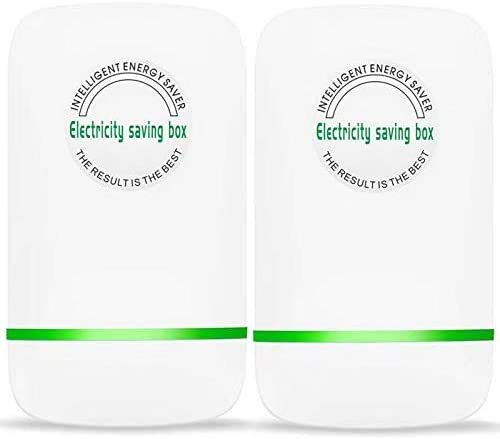 Tsinc Power Save Energy Saver Electricity Saving Box Household Office Market Device Electric Smart US Plug 90V-250V 30KW (2 Pack)
