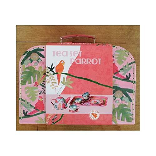 Egmont Toys Juego de té de Metal Perroquet