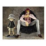 Modelo de Juguete One Piece Pop Corason Infancia Luo Escena clásica Juguete Modelo de Anime muñeca
