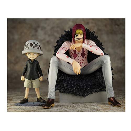 LXRZLS Modelo de Juguete One Piece Corazon Escena clásica Infantil Juguete Animado Modelo muñeca Dibujos Animados/Regalo/coleccionables/Decoraciones