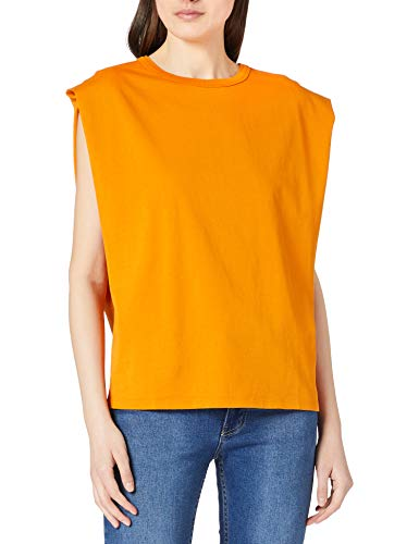 BOSS C_Elys 10234471 01 Camiseta, Open Yellow755, S para Mujer