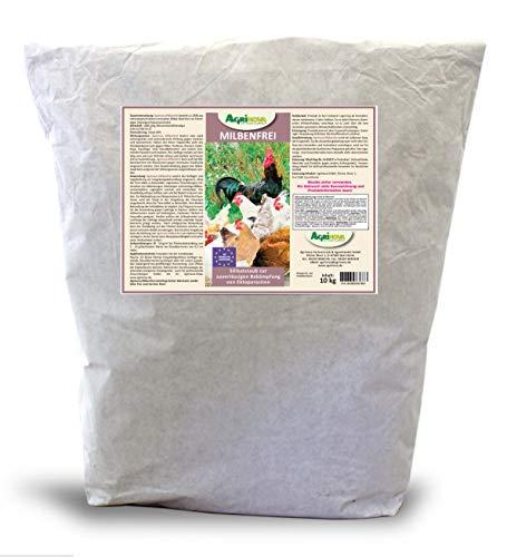 Agrinova Kieselgur Milbenfrei 10 kg Hochreine amorphe Kieselgur gegen alle Arten von Vogelmilben EU-Biozid-konform