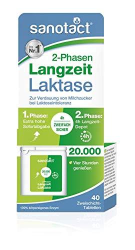 Sanotact lactasa larga duración 4 horas 20.000 FCC