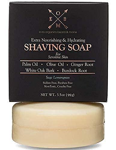 Era Organics Premium Shaving Soap Bar – Sulfate...