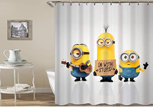 cortinas de baño minions