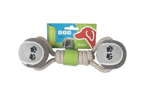 Dog Corde de Jeu pour Chien Naturel 6,5 x 24 cm