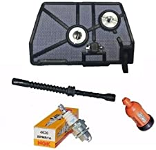 MercuriusParts Air Filter Tune up Service Kit with Fuel Line fits Stihl 028 028AV WB Wood Boss
