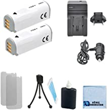2 NB-9L Rechargeable Battery + Car/Home Charger For Canon PowerShot N, SD4500 IS, Canon ELPH 520 HS, ELPH 510 HS, ELPH 530 HS, Canon IXUS 1000 HS, IXY 50S, N2 & More. Cameras + Complete Starter Kit