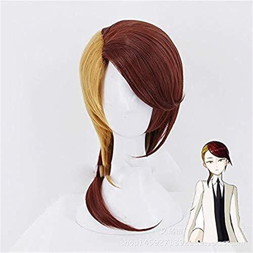 Seupeak Anime Land of The Lustross Rutile Wig Cosplay Costume Houseki No Kuni Men & Women Synthetic Hair Halloween Party Papel Peluca