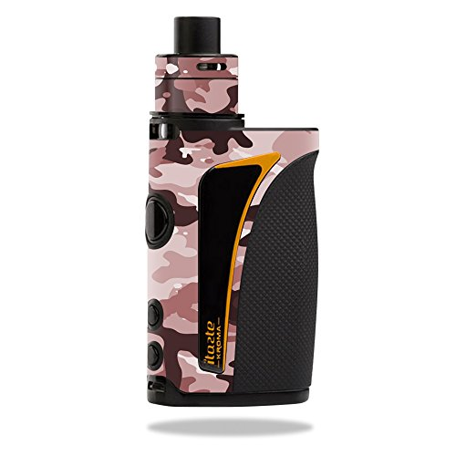 MightySkins Skin Compatible with Innokin iTaste Kroma Slipstream – Brown Camo | Protective, Durable, and Unique Vinyl Decal wrap Cover | Easy to Apply, Remove, and Change Styles | Made in The USA