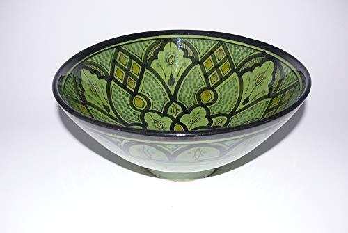cuenco de cerámica Oriental marroquí de la ensalada de fruta muesli Ø 30 cm - 905257-0107