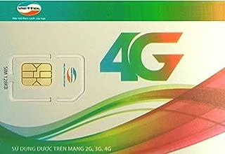ベトナム国No.1カバーエリア Vietel プリペイドSIM 15日 容量10GB