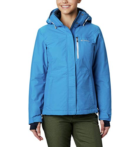 Columbia Damen Alpine Action OH Ski-Jacke, Blau (Fathom Blue), X-Large