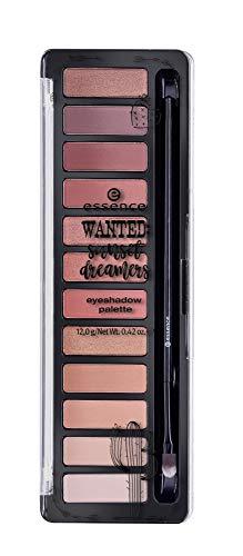 Essence Wanted: sunset dreamers Eyeshadow Palette Nr. 01 desert heat Inhat: 12g Lidschattenpalette mit Pinsel für tolle und betonte Augen. Eyeshadow Palette