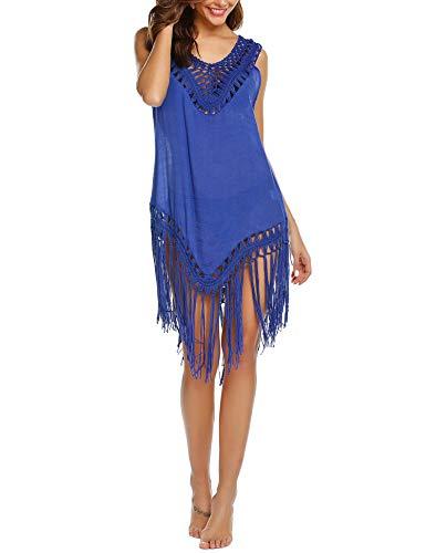 Balancora strandjurk voor dames, bikini cover up, strandponcho, zomer, tuniek, poncho, badmode