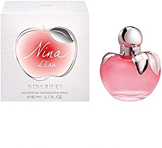 Nina L'Eau Nina Ricci 80ml for women نينا ريتشي ليو 80 مل للنساء