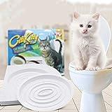 HUSHUS Pet Pet Supplies WC Gatto Vasino Allenatore Gatto WC Progettato per Risolvere i Problemi fisiologici Gatto