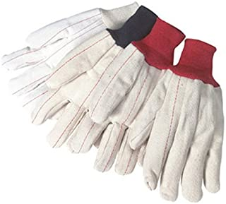 Liberty 4518Q/CR 18 oz Cotton/Polyester Blend Corduroy Nap-In Double Palm Canvas Glove (Pack of 12)