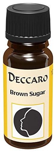 DECCARO Aceite aromático'Brown Sugar', 10 ml (aceite de perfume)