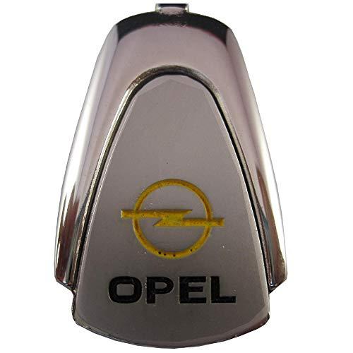 Ludostreet ref0008 Llavero de Metal Compatible con Marcas de Coche (Compatible con Opel)