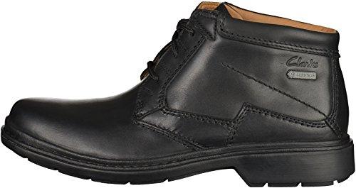 Clarks Rockie Hi GTX Ankle Boots/Boots Men Black Mid Boots Shoes