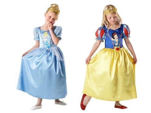 Rubie's-déguisement officiel - Disney- Déguisement Costume Réversible Cendrillon / BlancheNeige - Taille M- I-881889M