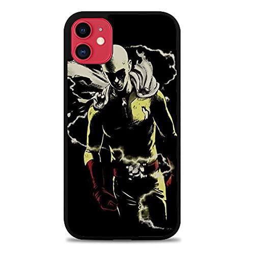 nlianfeng One-Punch-Man TPU Silicone Phone Case for iPhone X/iPhone XS - [One Punch Man,Logo-1,X/XS] - Handyhülle,Schutzhülle,Coque,Custodia,Carcasa de silicona,Mobile Cell Phone Case
