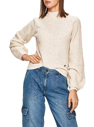 Pepe Jeans Jersey Clotilde Beige para Mujer XL Beige