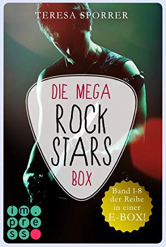 Die MEGA Rockstars-E-Box: Band 1-8 der Bestseller-Reihe (Die Rockstar-Reihe): Romance-Buchreihe