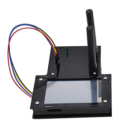 Davitu Module Board Raspberry Pi & Orange Pi - Black/Transparent Duplex MMDVM Hotspot Support P25 DMR YSF+Raspberry Pi-Zero+2pcs Antenna+3.2 LCD Screen Display+Exclouse Case - (Color: Black)