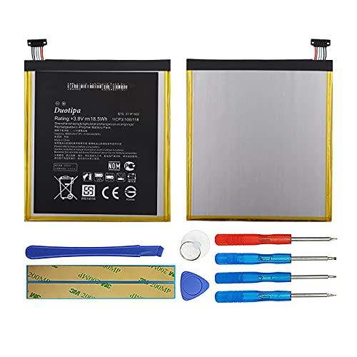 Duotipa Batería de repuesto C11P1502 compatible con Asus ZenPad 10 10.1 Z300C...