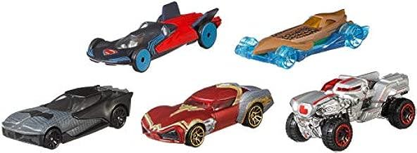 Hot Wheels DC Universe Justice League 5-Pack, Vehicle [Amazon Exclusive]