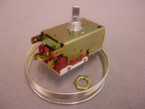 Thermostaat: Ranco VT9 VL9 5038 Ranco VT9 / VL9 thermostaat voor Twee deur Koelkast / vriezers MET automatische ontdooiing Geleverd ZONDER montage instructies en onderdelen Ranco K59L1102002 K59 Vergelijkt met Atea W4, Danfoss Kit 3 en Whirlpool WPLW4 Twee doo
