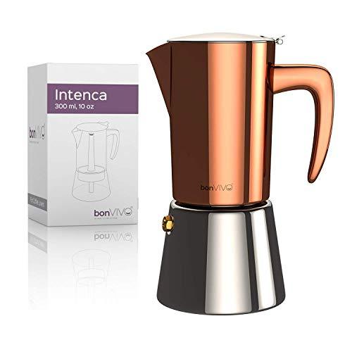 Bonvivo Intenca Espressokocher für Herd 10 oz kupfer
