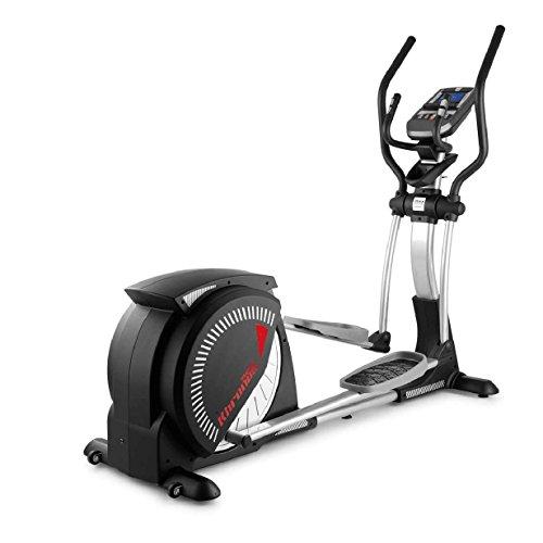 BH Fitness I.SUPER KHRONOS G2487I- Crosstrainer - 35Kg Schwungmasse - 51cm Schrittlänge - Kann mit dem Smartphone oder Tablet verbunden Werden