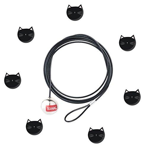 Legami Click fotolijst, Cats, zwart, 120x0,1 x 0,1 cm