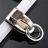 Ysss Desgaste Cinturón Llavero Cintura para Hombres Colgante Hebilla Simple Coche Inoxidable Colgar ...