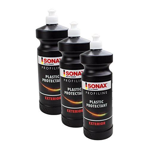 Preisvergleich Produktbild SONAX 3X 02103000 PROFILINE Plastic Protectant Exterior KunststoffPflege 1L
