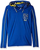 Under Armour Boys Baseline Shooting Shirt, Royal (400)/Taxi, Youth Large