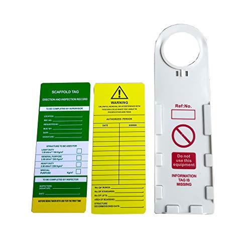 Almencla Juego de Etiquetas de prevención de Accidentes de Seguridad para...