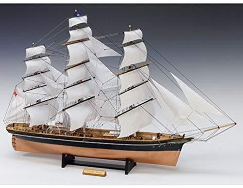ウッディジョー 1/100 カティサーク 帆付き 木製模型 組み立てキット