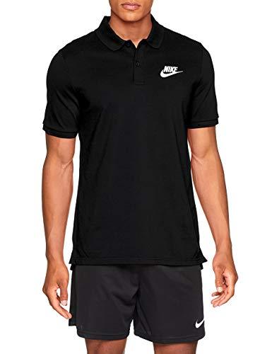 NIKE M NSW CE Polo Matchup Pq Camiseta, Hombre, Black/White