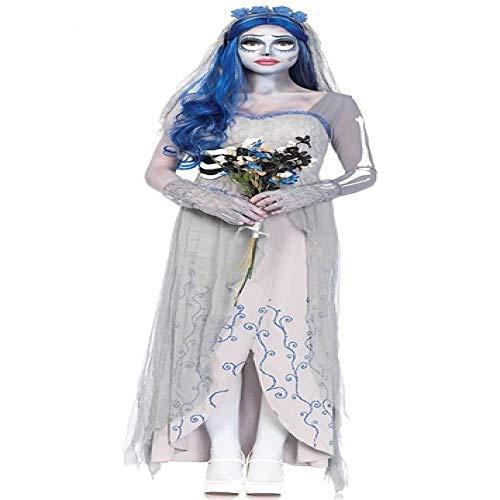 gousheng Disfraz De Halloween para Mujer, Disfraz De Diablo, Fiesta De Cosplay, Diablo, CadáVer, Novia, Disfraz De Halloween para Mujer