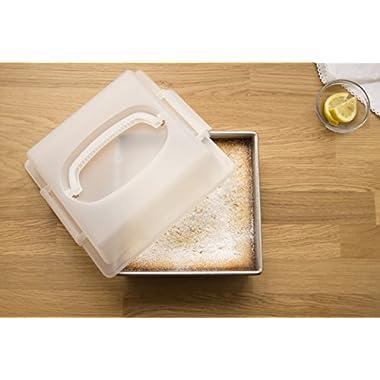 USA Pan 1130BWLD-ST-1 Bakeware Nonstick Square Cake, 9