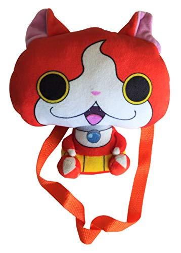 Borsa per orologi Yo-Kai, mini zaino 17 cm per bambini, ragazzi e ragazze (arancia)