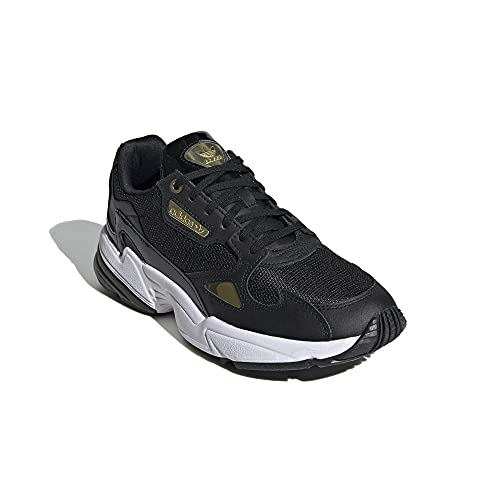 ADIDAS Falcon W CBLACK/Goldmt/FTWWHT Zapatillas Sneakers para Mujer Sintético Color Core Black Talla 38 2/3