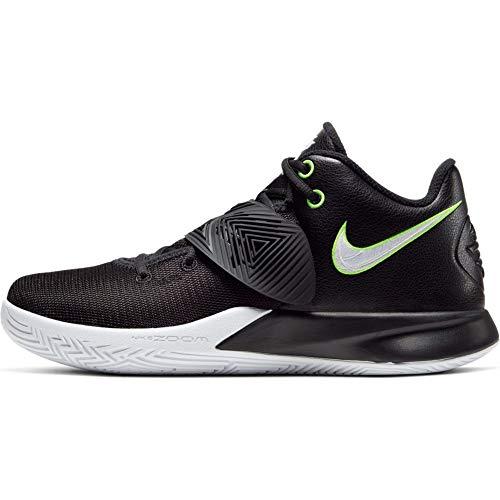 Nike Herren Kyrie Flytrap III Basketballschuh, Black/White-Volt, 40.5 EU