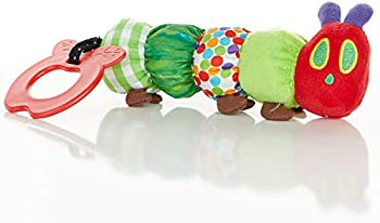 The World of Eric Carle Hungry Caterpillar Teether Rattle Teething Toy