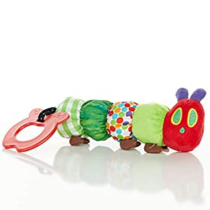 Teether Rattle, World of Eric Carle The Very Hungry Caterpillar Teething Toy for Babies