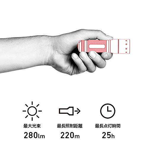 LEDLENSER(レッドレンザー)LEDライトTT【明るさ280ルーメン/実用点灯3時間】9804[日本正規品]